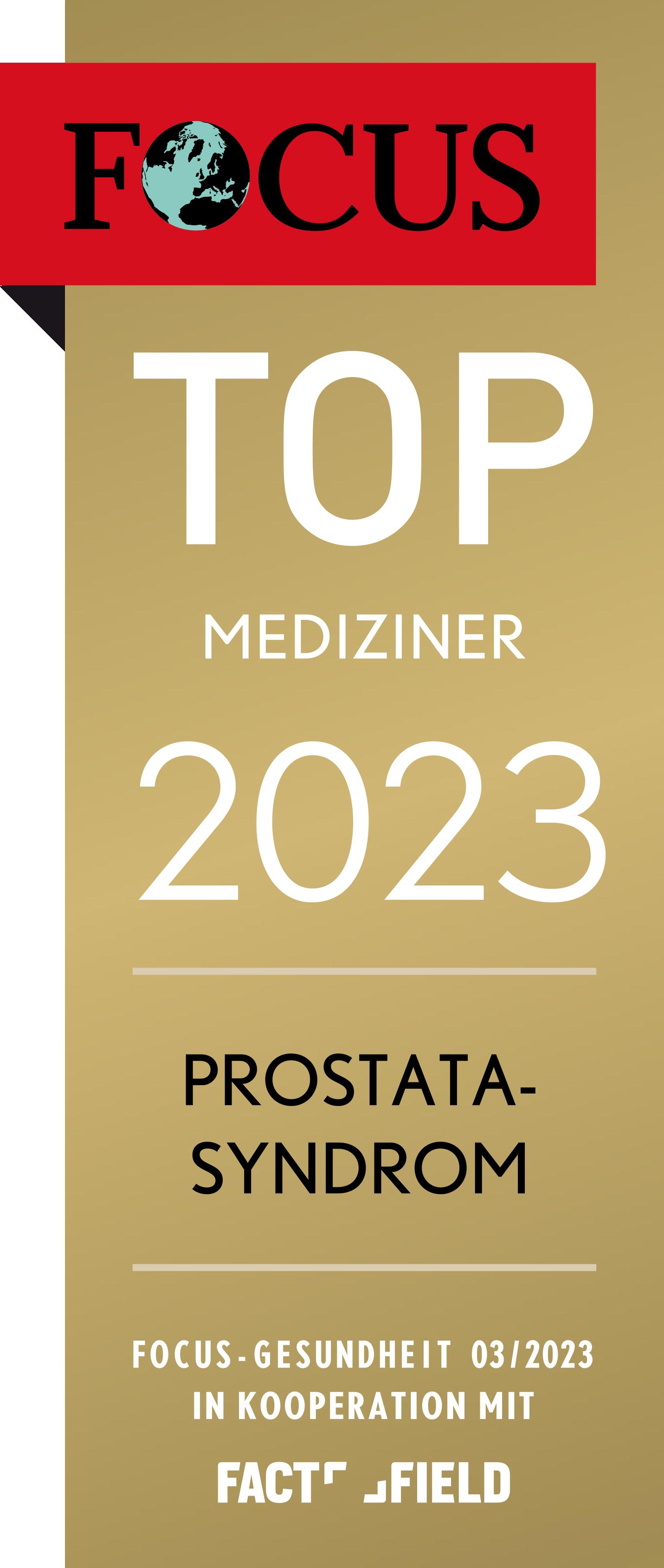 FOCUS Empfehlung 2021 - Prostata