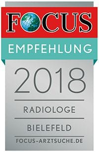FOCUS Empfehlung 2018 - Radiologie