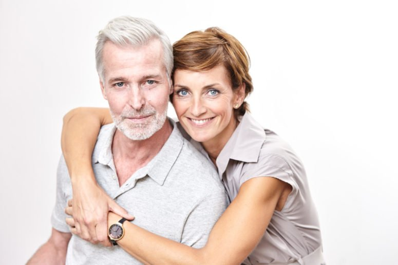 Mann mit Prostatakrebs