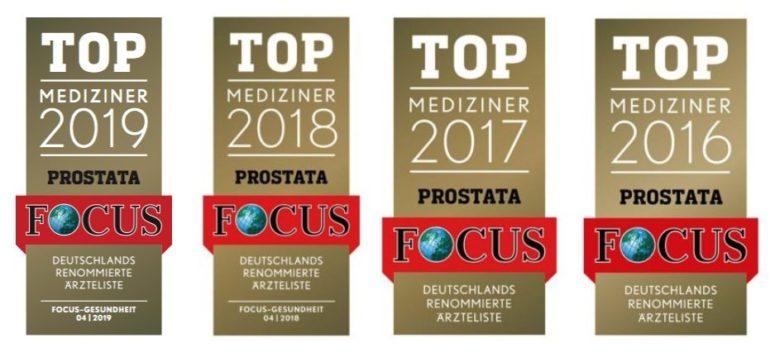 FOCUS Auszeichnung TOP Mediziner