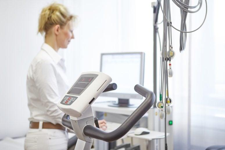 Belastungs-EKG Herzvorsorge